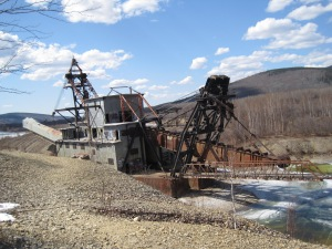 Dredge No. 3 Photo by Author