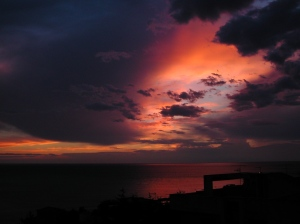 Calabria Sunset from Morguefile