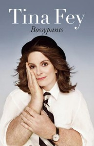 Why did Tina Fey feel she needed to merge her image with a man's for the cover of her memoir?